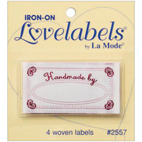 Iron-On Lovelabels 4/Pkg
