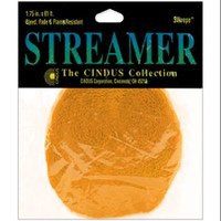 "Crepe Streamers 1.75""X81' – Canary Yellow"