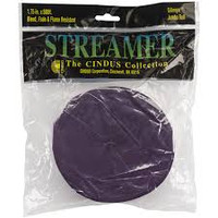 "Crepe Streamers 1.75""X81' – Purple"