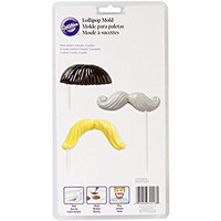 MUSTACHE FUN FACE LOLLIPOP MOLDS