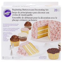 Beginning Buttercream Decorating Set 20pcs