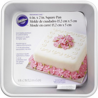 "Performance Cake Pan - Square 6""X2"""