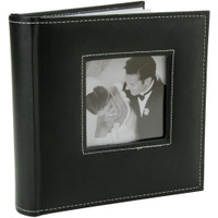 "K&Company 2 Up Faux Leather Memo Photo Album 8""X9"""