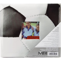"Sport & Hobby Post Bound Album W/Window 8""X8"" - Soccer"