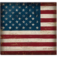 "Vintage Flag Post Bound Album 12""X12"""