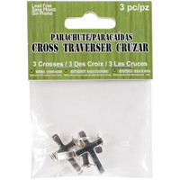 Parachute Cord Charms – Cross 3/Pkg