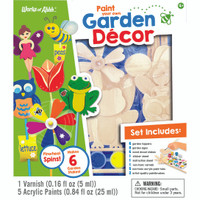 GARDEN DÉCOR WOOD PAINT KIT