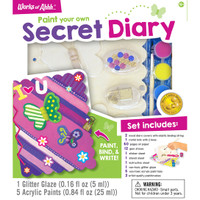 SECRET DIARY WOOD PAINT KIT