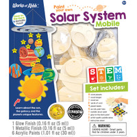 SOLAR SYSTEM MOBILE WOOD PAINT KIT