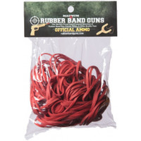 Red Rubber Band Gun Ammo Size 32 (4-oz. bag)