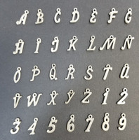 Alphabet and Number Charms