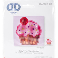 "Cup Cake Yum Diamond Dotz – 4.75""X4.75"""