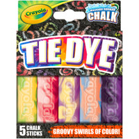Crayola Tie-Dye Washable Sidewalk Chalk