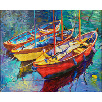 "Dream Boats Diamond Dotz Diamond -  21.5""X18"""