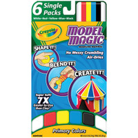 Crayola Model Magic .5oz 6/Pkg
