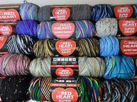 Red Heart Super Saver Variegated Skeins