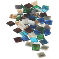 Vitreous Glass Mosaic Tiles .5lb
