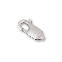 Sterling Silver Lobster Claw - 12X4mm