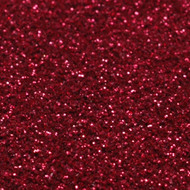 1/2 Ounce Glitter Poof Bottle  - Ruby Red