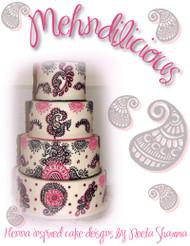 Mehndilicious - Henna Inspired Cake Designs by Neeta Sharma