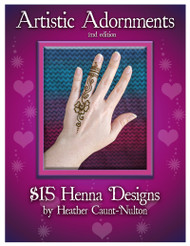 Artistic Adornment - Festival Henna Design Collection - Fifteen Dollar Designs, 2nd edition