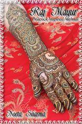 Raj Mayur - Peacock Inspired Bridal Mehndi Designs by Neeta Sharma