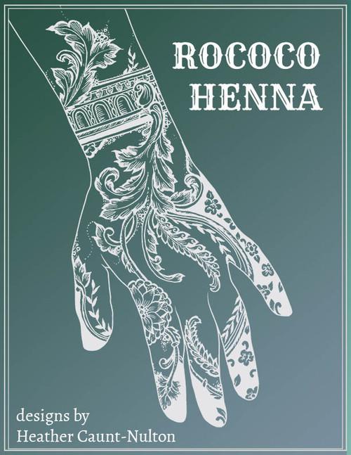 Rococo Henna - designs by Heather Caunt-Nulton - cover