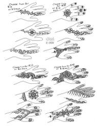 Chaand Raat Henna Designs - 2021 new simple henna designs for Eid