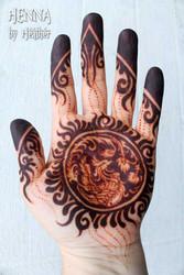 Mohana Henna 2016 - fully developed stain