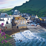 BH80494 - Late Sun at Port Isaac (6 blank cards)