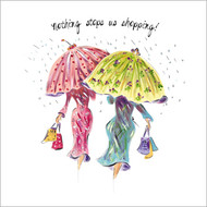 TG39089 - Nothing stops us shopping (6 blank cards)