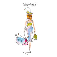 TG39132 - Shopaholic! (6 blank cards)