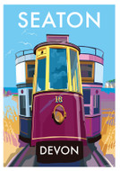 BB78674 - Seaton, Devon (6 blank cards)