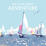 BB78670 - Life is the Great Adventure (6 blank cards)