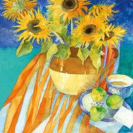 ST68207 - Sunflowers and Apples (6 blank cards)