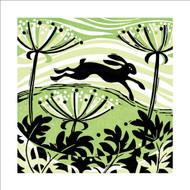 MA86897 - Hillside Hare (6 blank cards)
