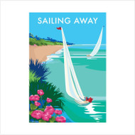 BB78928 - Sailing Away (6 blank cards)