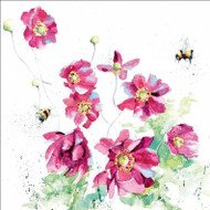 RT84915 - Japanese Anemones (6 blank cards)