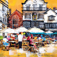 MB79936 - Cafe, Exeter (6 blank cards)