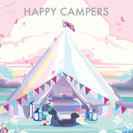BB78985 - Happy Campers (6 blank cards)