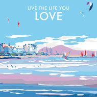 BB78991 - Life the Life you Love (6 blank cards)