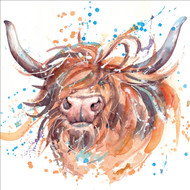 RT84950 - Highland Cow (6 blank cards)