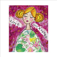 MD89982 - Love and Kisses (6 blank cards)