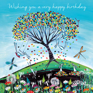KA82027HB - Wishing you a very happy birthday (6 blank cards)