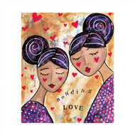 MD89036 - Sending Love (6 blank cards)