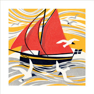 MA86041 - Seagulls and Sails (6 blank cards)