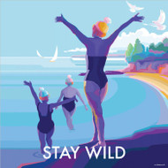 BB78049 - Stay Wild (6 blank cards)