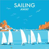 BB78051 - Sailing Away (6 blank cards)