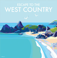 BB78057 - Escape to the West Country (6 blank cards)