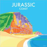 BB78058 - Jurassic Coast (6 blank cards)